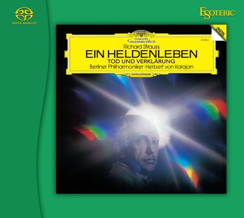 画像: R.シュトラウス:交響詩《英雄の生涯》/交響詩《死と浄化》(SACD/CD)ESSG-90227 ※予約商品・9月15日頃より順次発送予定