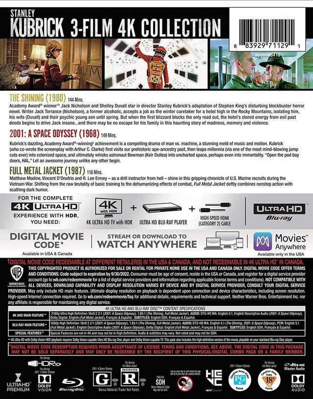 画像5: 《UPDATE》4Kキューブリック第3弾『フルメタル・ジャケット』【海外盤Blu-ray発売情報】