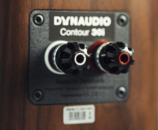 画像: スピーカー端子部はシングル接続で、これはシリーズ共通となる