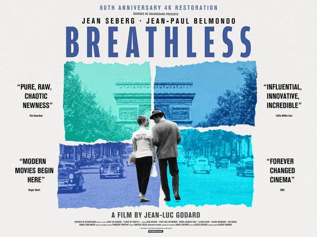 画像2: BREATHLESS - 4K UHD BLU-RAY/NEW 4K RESTORATION