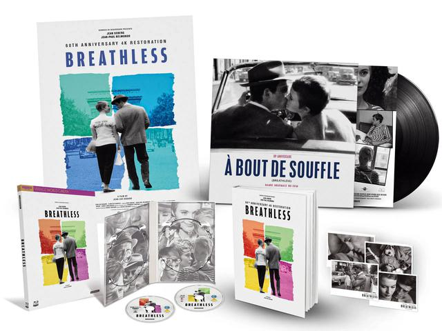 画像1: BREATHLESS - 4K UHD BLU-RAY/NEW 4K RESTORATION