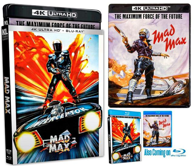画像: MAD MAX - 4K UHD BLU-RAY with DOLBY VISION/4K DIGITAL RESTORATION