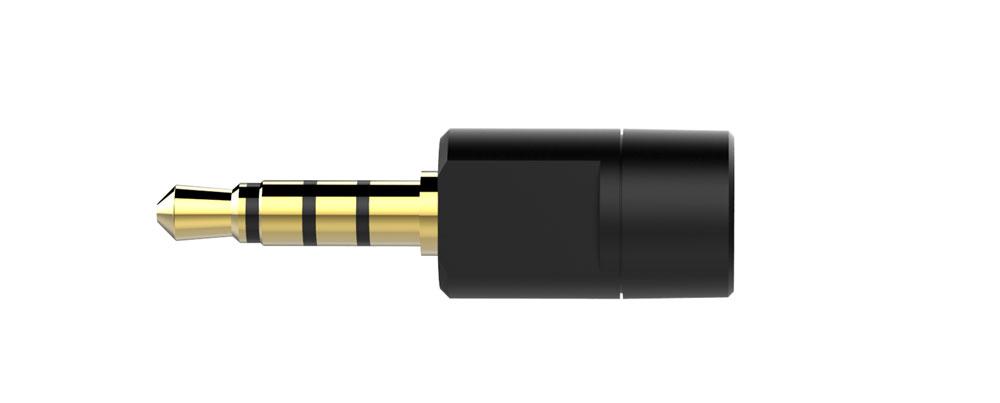 画像: BT-W3同梱のアナログマイク。PS4やパソコン(ノート)のヘッドセット端子に接続して、マイクとして使える