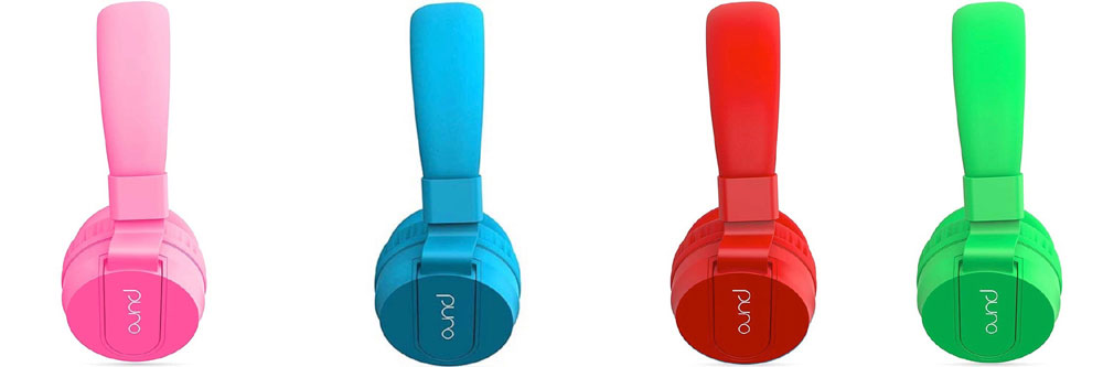 画像1: Puro Sound Labsから、子供の耳を守る音量制限機能付きヘッドホン「PuroBasic」が発売。4色のパステル―カラー仕上げ
