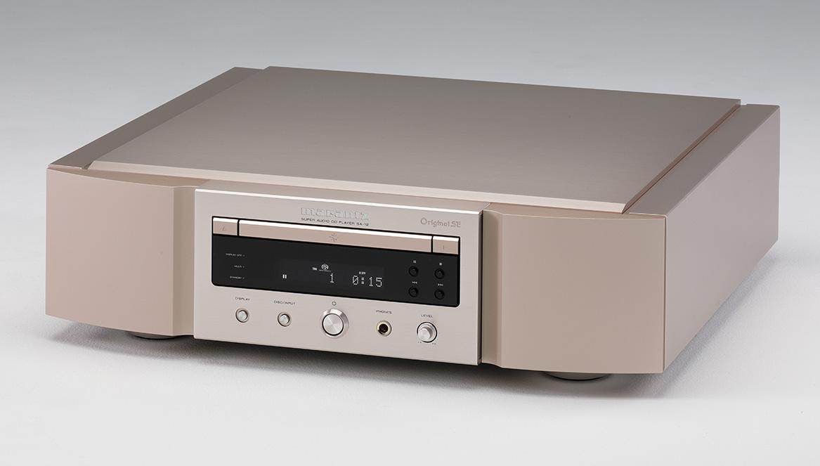 画像: マランツ SA12 OSE ¥350,000 ●再生可能ディスク:CD、SACD●アナログ出力:1系統(RCAアンバランス)、ヘッドフォン1系統(標準フォーン)●デジタル出力:2系統(RCA同軸、TOS光)●デジタル入力:4系統(RCA同軸、TOS光、USB-A、USB-B)●最大サンプリング周波数/ビット数:PCM・384kHz/32bit、DSD・11.2MHz●寸法/重量:W440×H127×D419mm/17.1kg●備考:リモコン付属●問合せ先:デノン・マランツ・D&Mインポートオーディオお客様相談センター