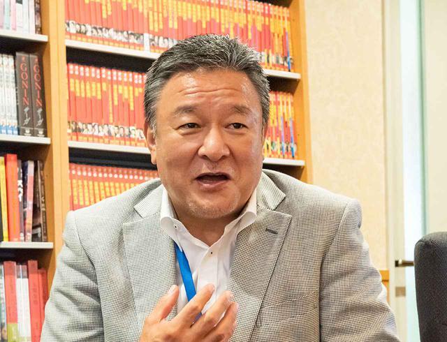 画像: 株式会社角川大映スタジオ 代表取締役社長 小畑良治さん。お忙しい中インタビューにご対応いただいた