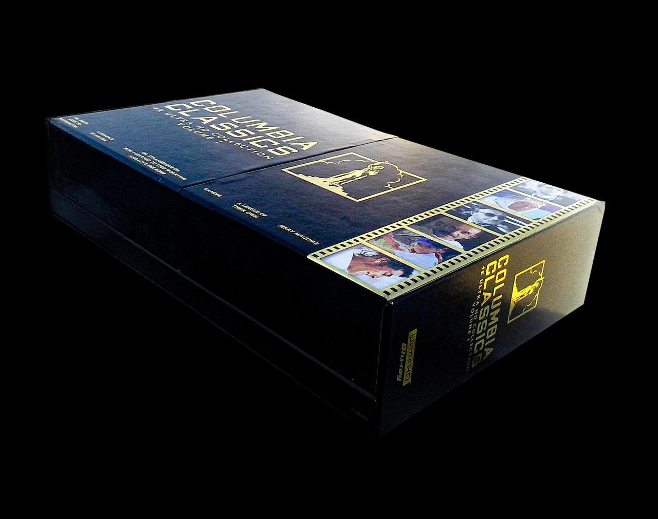 画像1: COLUMBIA CLASSICS COLLECTION - 4K UHD BLU-RAY LIMITED BOX-EDTION VOL-1 Mr. Smith Goes to Washington / Lawrence of Arabia / Dr. Strangelove Gandhi / A League of Their Own / Jerry Maguire with DOLBY VISION/DOLBY ATMOS/4K DIGITAL RESTORATION