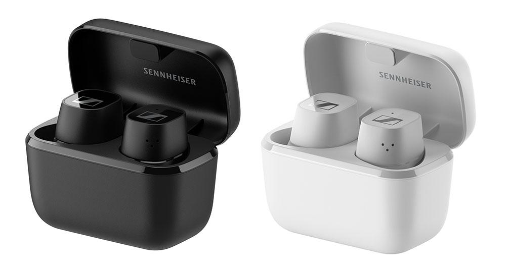 画像: 「CX 400BT True Wireless」はブラックとホワイトの2色展開