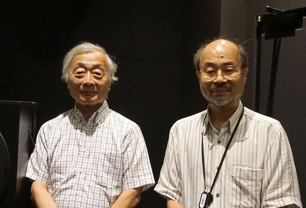 画像: 実は長いお付き合いという麻倉さんと入交さん。イマーシブサラウンドについて話し出すと、終わりがありません