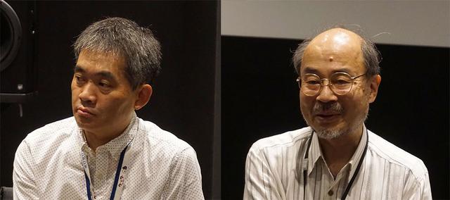 画像: 取材に協力いただいた、株式会社WOWOW 技術局 技術企画部長 福田賢治さん(左)と、技術局 エグゼクティブ・クリエイター/博士 入交英雄さん(右)