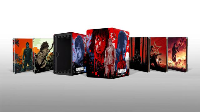 画像: RAMBO: THE COMPLETE STEELBOOK COLLECTION - 4K UHD BLU-RAY