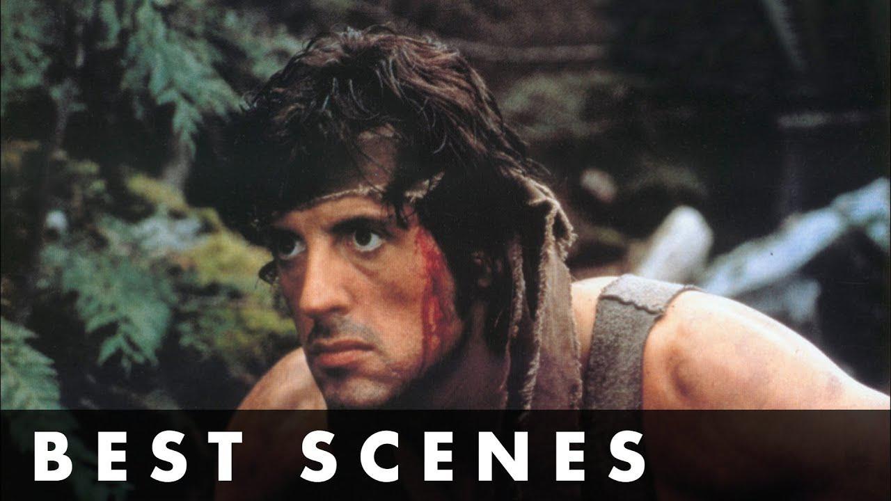 画像: TOP SCENES FROM RAMBO: FIRST BLOOD - Starring Sylvester Stallone youtu.be