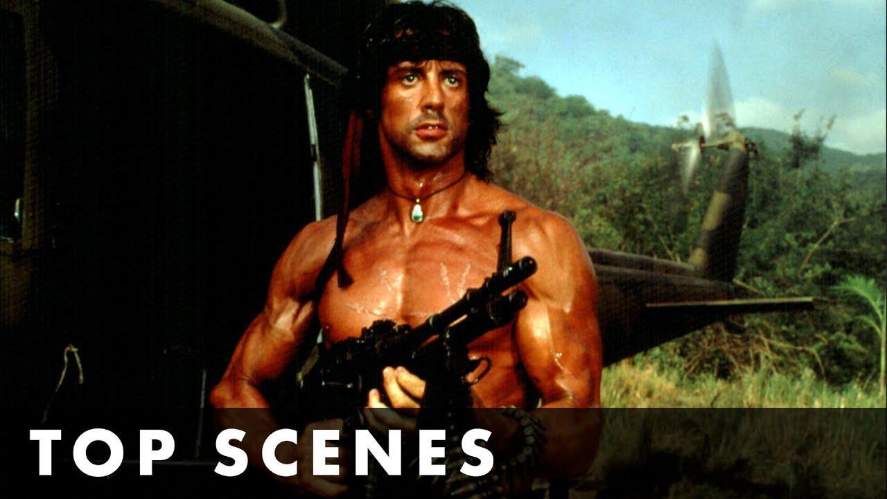 画像: TOP SCENES FROM RAMBO: FIRST BLOOD PART II - Starring Sylvester Stallone youtu.be