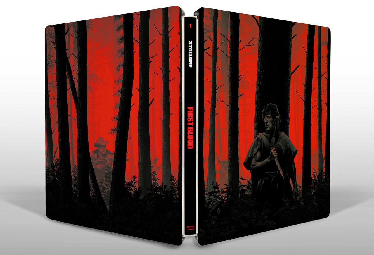 画像: FIRST BLOOD Year of Production: 1982 4K Ultra HD™ Format: 2160p Ultra High Definition 16×9 (2.35:1) Presentation Feature Run Time: 93 minutes 4K Audio Status: English 5.1 DTS-HD Master Audio, Spanish DTS-HD Master Audio Subtitles: Spanish, English