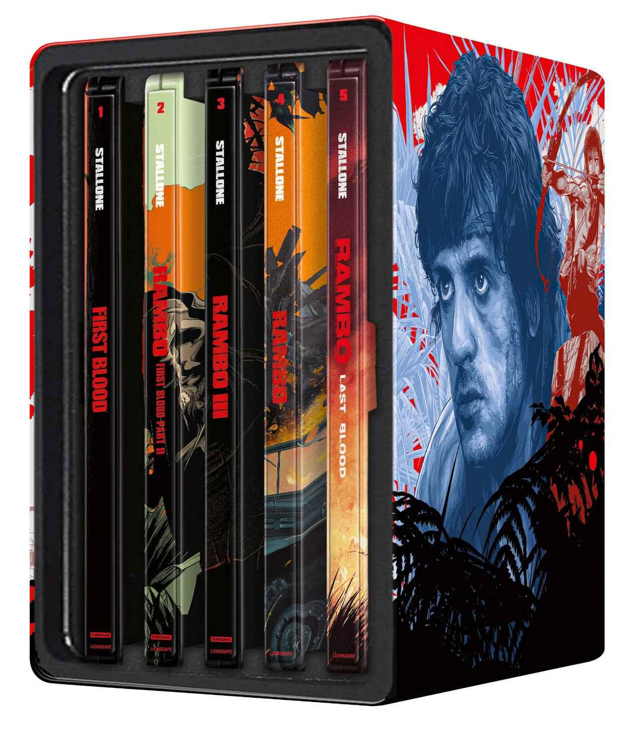 画像1: 豪華スチールブックで登場『ランボー:ザ・コンプリート・スチールブック・コレクション』【海外盤Blu-ray発売情報】