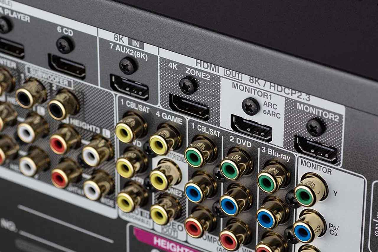 画像4: サラウンドの深淵が再現できるAVセンター「AVC-A110」。高音質化のためのアイデアをすべて見直し、さらに8K映像信号にも対応した、デノン創立110周年記念モデル