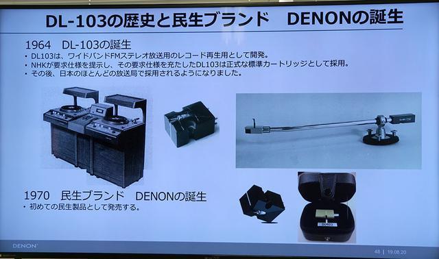 画像2: デノン創立110周年記念MC型カートリッジ「DL-A110」は11月上旬に登場。名機「DL-103」の実力を100%引き出すために開発された専用設計のヘッドシェルを組み合わせた