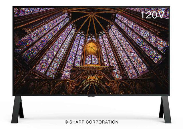 画像: シャープが、120インチの業務用8K液晶ディスプレイ「8M-B120C」を9月下旬から受注開始。「AQUOS 8K」の開発で培った映像技術を搭載し、HDMIケーブル1本で8K入力も可能