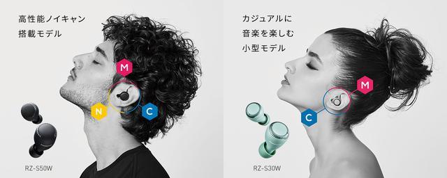 画像: 完全ワイヤレスイヤホン ラインアップ | 商品一覧 | ヘッドホン/インサイドホン | Panasonic