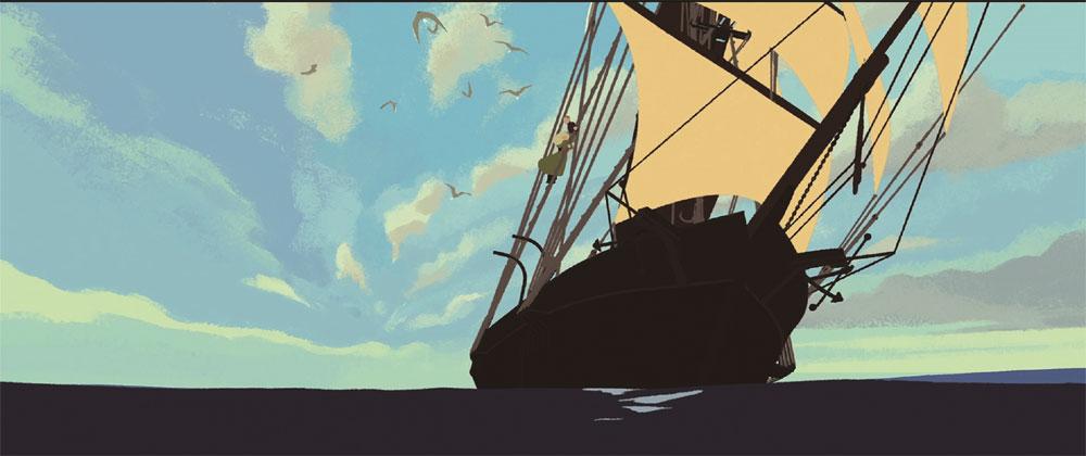 画像1: 高畑勲監督が称賛した傑作アニメーション『ロング・ウェイ・ノース 地球のてっぺん』が、三鷹の森ジブリ美術館ライブラリーから、12月2日に発売決定