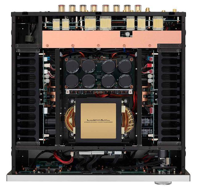 画像2: ラックスマンのA級プリメインアンプ「L-595A LIMITED」が誕生。往年のベストセラーモデル「L-570」をデザインモチーフに、現代の技術を注ぎ込んだ300台限定モデル!
