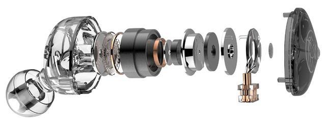 画像2: TFZ、グラフェンドライバー搭載の有線イヤホン「LIVE1」「LIVE1M」を9月26日に発売