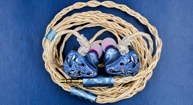 画像: Blue Dragon(qdc)|ミックスウェーブ[Mixwave] 10ドライバーユニバーサルフィットIEMバランスド・アーマチュア型イヤホン