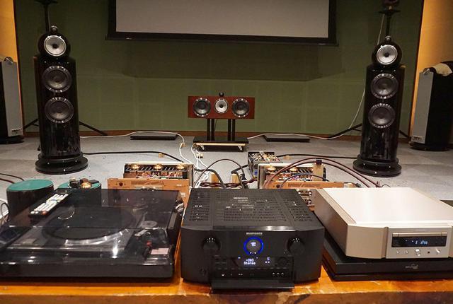 画像: 発表会では7.1.4環境でSR8015の音を体験できた