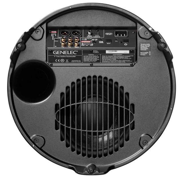 画像2: GENELEC、デジタル音声入力端子を装備したサブウーファー「F One」「F Two」を発売。クラスDアンプでパワフルな駆動
