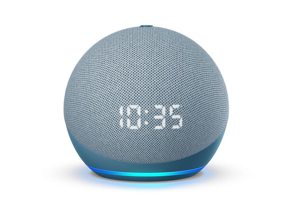 画像: 写真は「Echo Dot with clock」