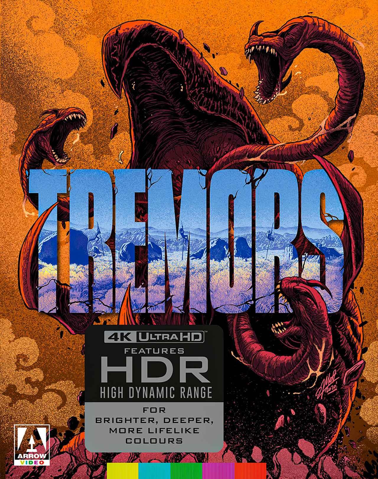画像1: 痛快!4K怪獣映画『トレマーズ』【海外盤Blu-ray発売情報】