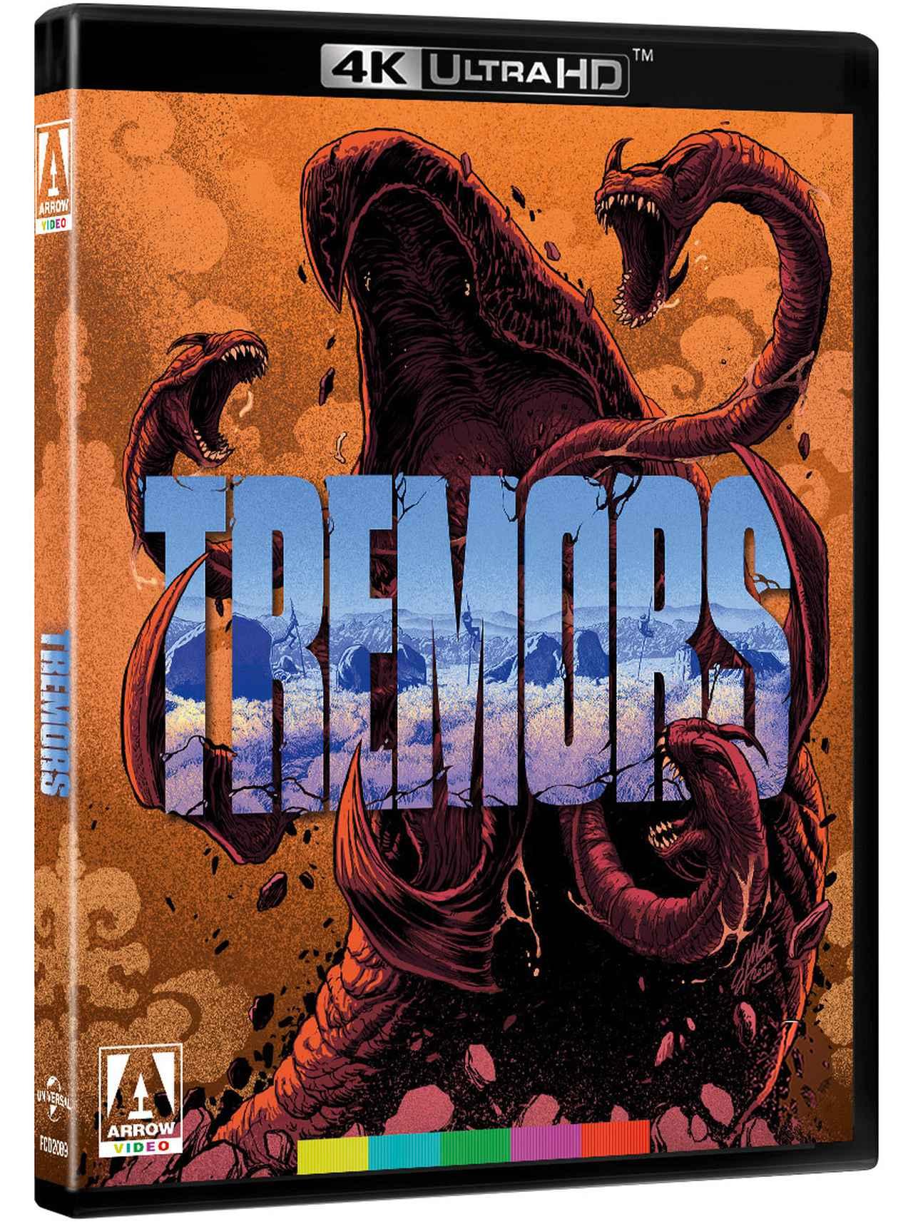 画像2: 痛快!4K怪獣映画『トレマーズ』【海外盤Blu-ray発売情報】