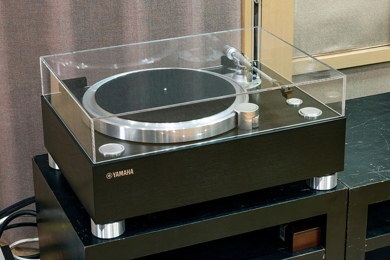 画像: 「NS-3000」はアナログレコードの音との相性もとてもよかった。なお今回試聴で使った「GT-5000」専用のダストカバー「DCV-5000」(¥85,000、税別)が今年8月に発売されています