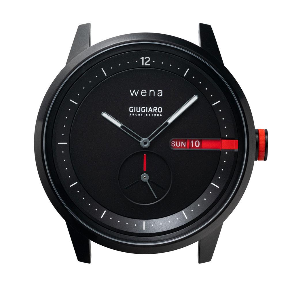 画像: 「wena head designed by Giugiaro Architettura」。価格はオープンで、写真のブラックは、想定価格¥59,000前後