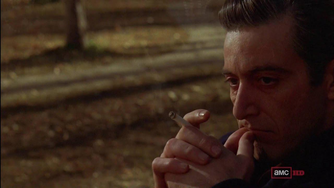 画像: 当初予定されていたオープニング・シーン。 『ゴッドファーザー, コーダ:マイケル・コルレオーネの死』では再編集されているかもしれない。 www.youtube.com