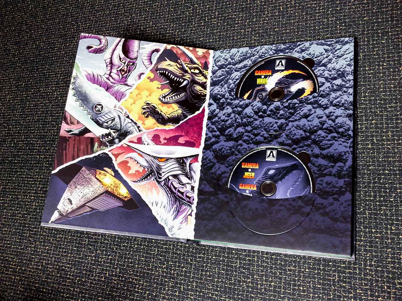 画像4: 超弩級『ガメラ:ザ・コンプリート・コレクション』【海外盤Blu-ray発売情報 - 特別編】