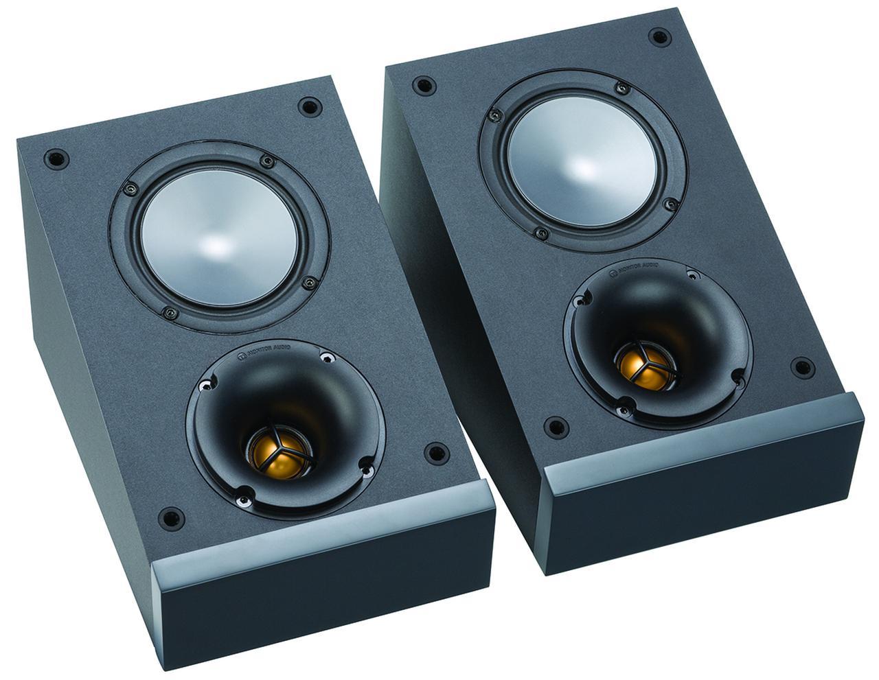 画像: イネーブルドスピーカーのブロンズAMS-6Gは、同200-6Gと50-6Gの上部に設置して使うのにピッタリなサイズ