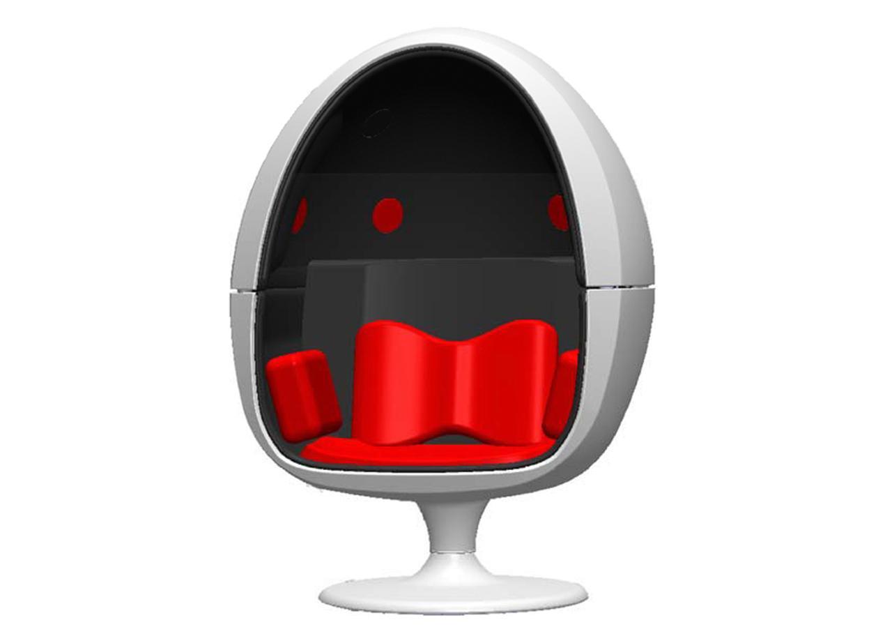 画像: オーディオハート、椅子型スピーカーシステム第2弾「VRS-2」を発売。7.2chの没入サラウンドが楽しめる。価格は68万円 - Stereo Sound ONLINE