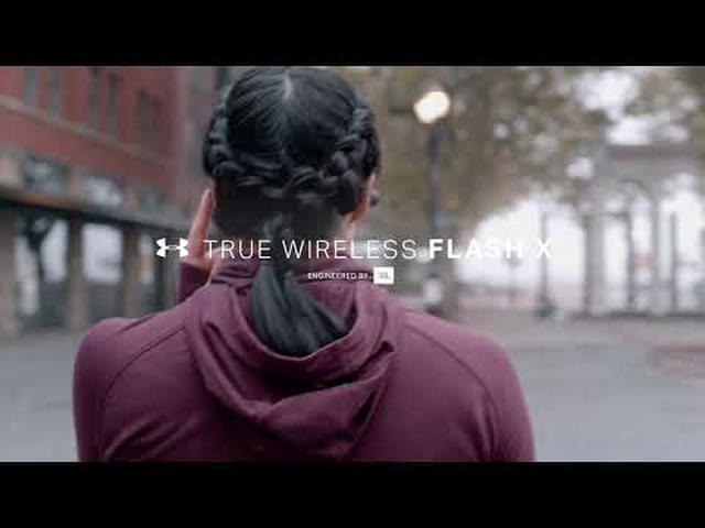 画像: JBL UA TRUE WIRELESS FLASH X | 完全ワイヤレスイヤホン youtu.be