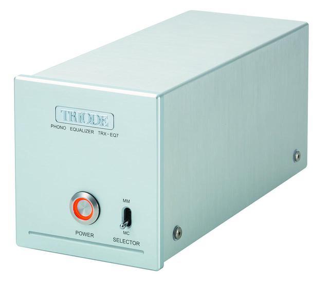 画像: トライオードが、進化系フォノイコライザーアンプ「TRX-EQ7」を新発売。増幅ゲインを約10dB大きくし、使いやすさを向上させた。定価は¥48,000 - Stereo Sound ONLINE