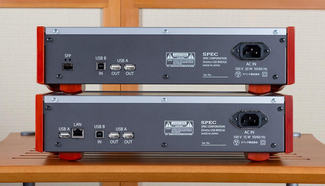 画像2: Diretta伝送で、音がこんなによくなるとは! SPECから登場したUSB Bridge「RMP-UB1」は、ハイレゾファンに大きな恩恵をもたらす注目アイテムになるだろう