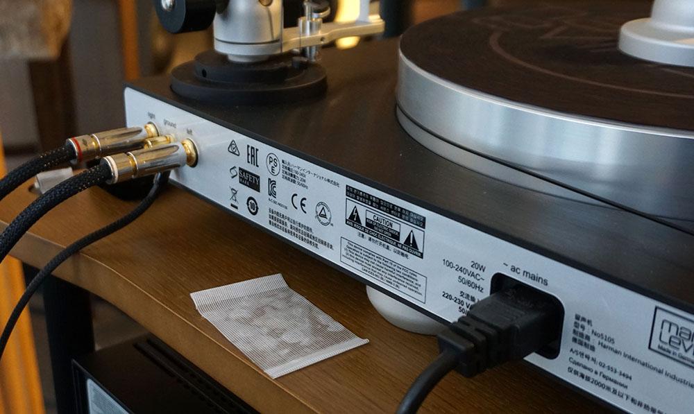画像2: マークレビンソン5000シリーズにアナログターンテーブル「No5105」が加わる。精密加工された美しいフォルムから、情報量豊かなサウンドを奏でていた