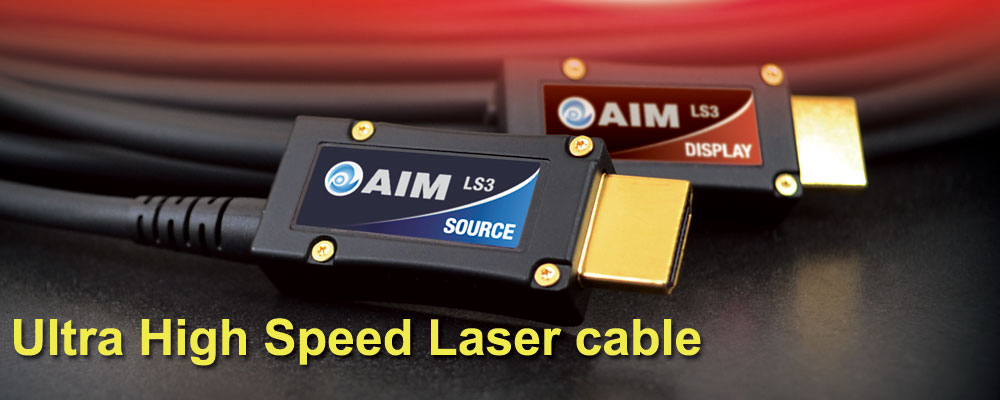 画像: ウルトラハイスピードレーザーケーブル [LS3]   AIM電子 - オーディオ & ヴィジュアル製品