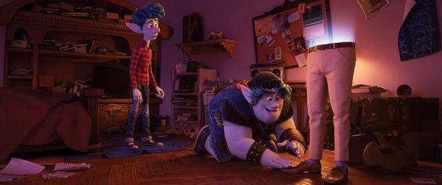 画像1: ディズニー&ピクサーが贈る『2分の1の魔法』が、12月16日にMovieNEX、4K UHD MovieNEXで登場。11月18日には先行デジタル配信開始