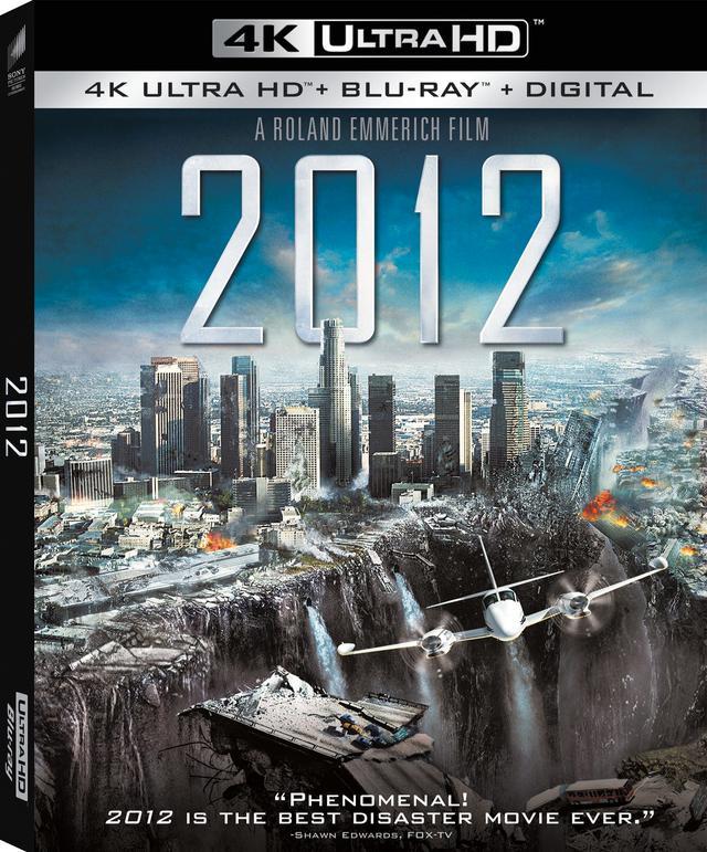 画像: 4Kパニック・スペクタクル『2012』【海外盤Blu-ray発売情報】