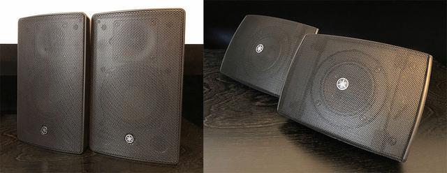 画像: 2ウェイタイプの「VXS5」(左)と、より小型軽量の「VXS3F」