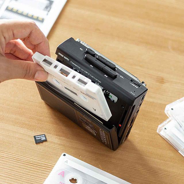 画像: サンワサプライ、懐かしのカセットテープを再生&デジタル音源化できるカセット変換プレーヤー「400-MEDI037」を発売