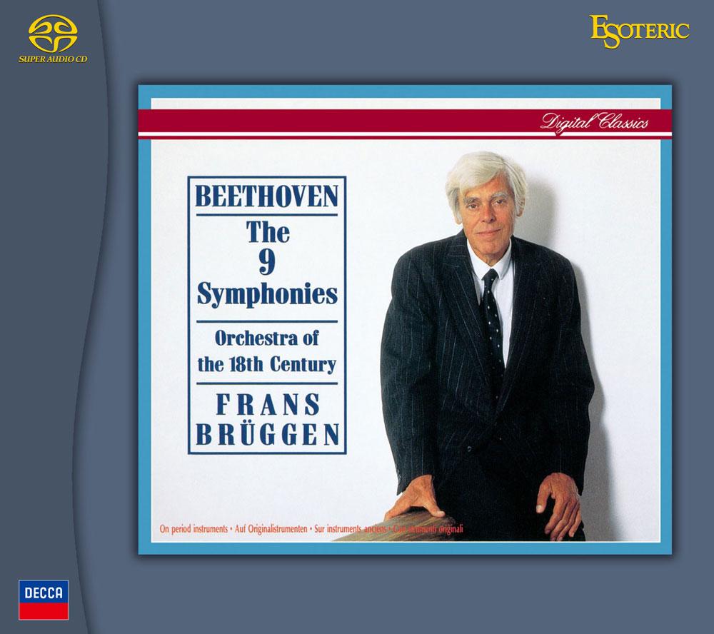 画像: フランス・ブリュッヘン(指揮)、18世紀オーケストラ ■品番:ESSD-90233/7(5枚組) ■仕様:Super Audio CDハイブリッド ■価格:¥15,000+(税別) ■レーベル:DECCA(蘭PHILIPS) ■音源提供:ユニバーサルミュージック合同会社 ■ジャンル:交響曲
