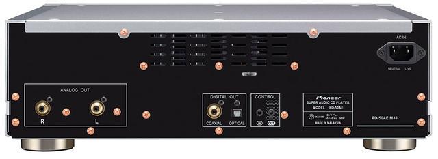 画像2: パイオニア、MQA-CDの再生に対応したSACD/CDプレーヤー「PD-50AE」を発売。上位モデル「PD-70AE」の高音質設計や電源回路を踏襲