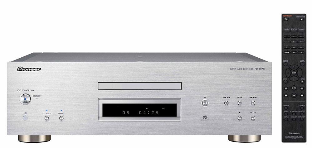 画像1: パイオニア、MQA-CDの再生に対応したSACD/CDプレーヤー「PD-50AE」を発売。上位モデル「PD-70AE」の高音質設計や電源回路を踏襲